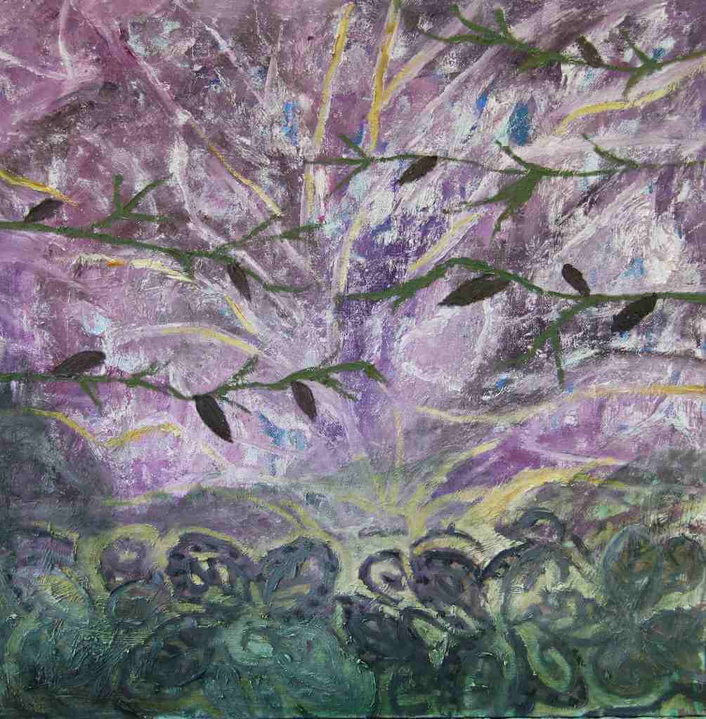 Olive Tree Mesh painting